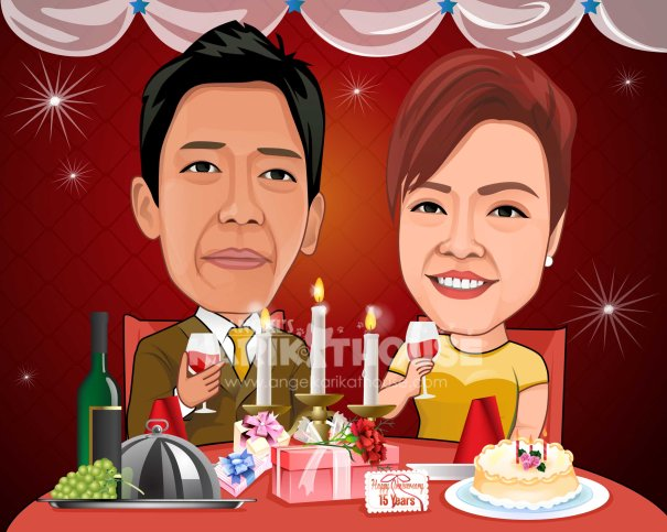Wedding anniversary 17