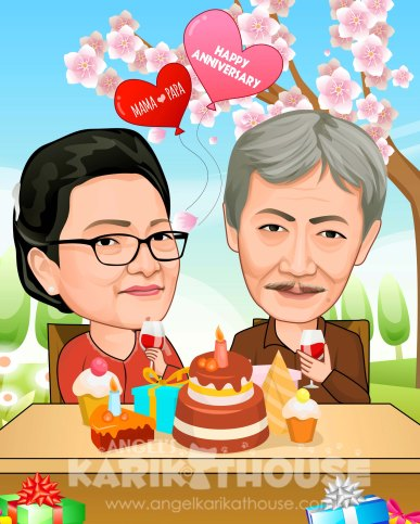 Wedding anniversary 27