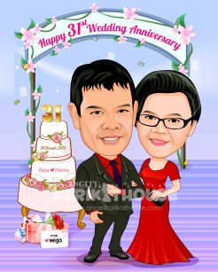 Wedding anniversary 31