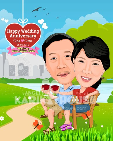 Wedding anniversary 45