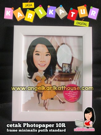 make up caricature
