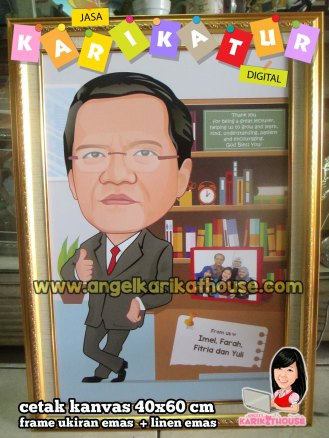 lecturer caricature